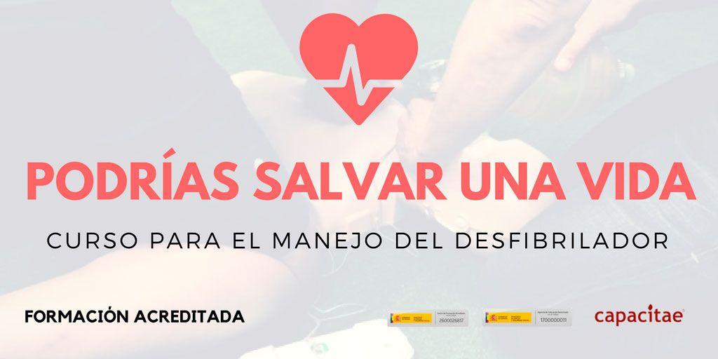 Curso de Desfibrilador en La Rioja y Primeros Auxilios para todas las edades